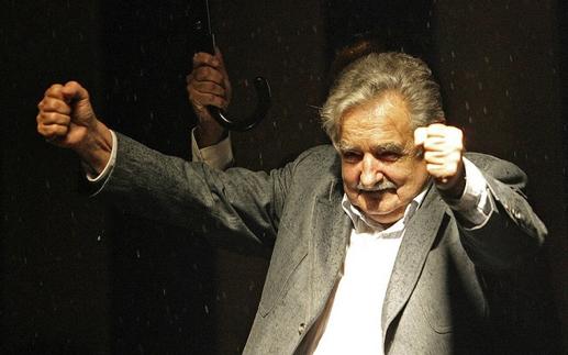 Beschreibung: ose Murcjia Uruguays Praesident