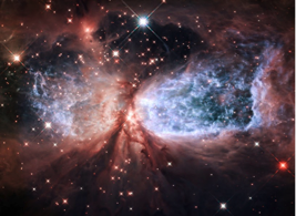 Beschreibung: http://2.bp.blogspot.com/-uc2LdB50Ojg/VFQmgDcy9dI/AAAAAAAAO5E/TdZrf_xoVP0/s1600/Hubble-beobachtet-kosmischen-Engel-Sharpless-2-106.jpg
