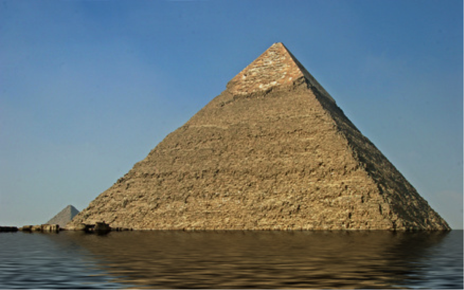 Beschreibung: tlantis Pyramide