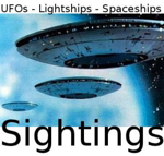 Beschreibung: FOs Lightships Spaceships Sighting LOGO