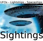 Beschreibung: FOs Lightships Spaceships Sighting LOGO