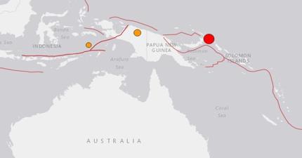 LERTA DE TSUNAMI TRAS TERREMOTO DE 7,9 GRADOS EN PAPUA NUEVA GUINEA