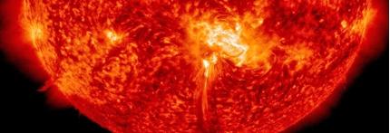 Beschreibung: lamarada solar clase M4.0, 24 de Octubre 2014