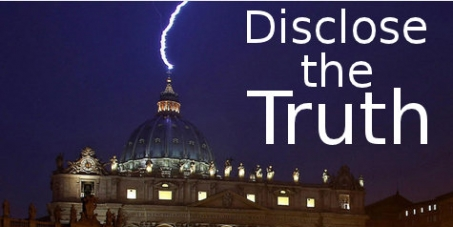 Beschreibung: atican - Disclose the Truth Petition