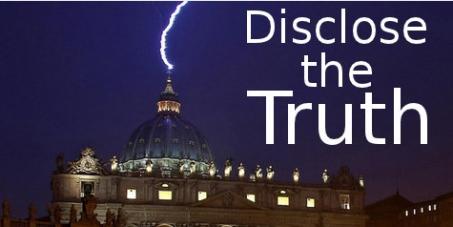 Beschreibung: atican - Disclose the Truth Petition